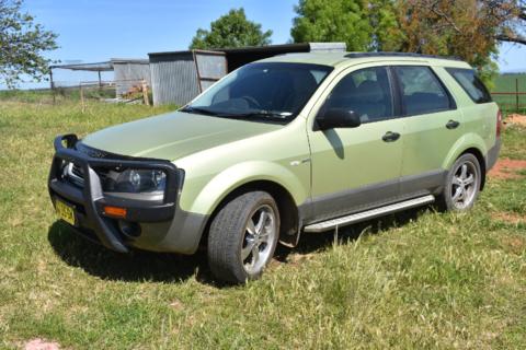 Ford Territory TX wagon