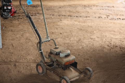 Victa push mower
