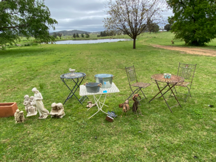 Assortment of garden furniture and ornaments