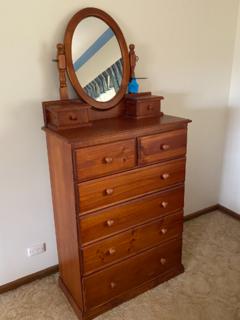 Timber dresser