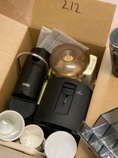 Coffee blender toaster