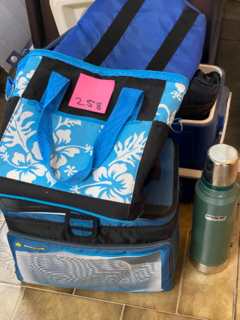 Cooler bags, esky and thermos