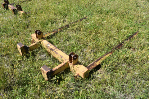 Coolamon 2-point-linkage hay forks