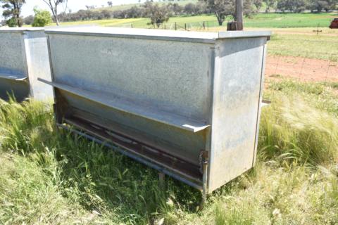 Cowra sheep feeder