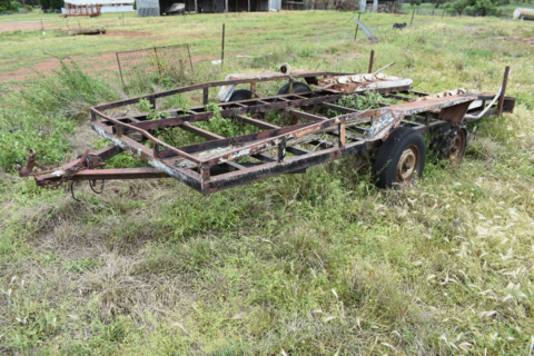 Car/plant trailer