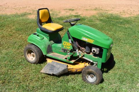 Cox Lawn Boss ride-on mower