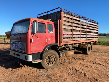 International Body Truck with crate
