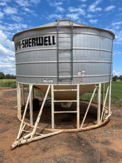 Field bin # 1 - White MPH Sherwill