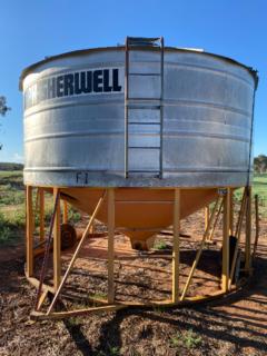 Field bin # 2 - Orange MPH Sherwill
