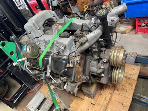 New V8 Turbo Charged Chev Diesel Motor
