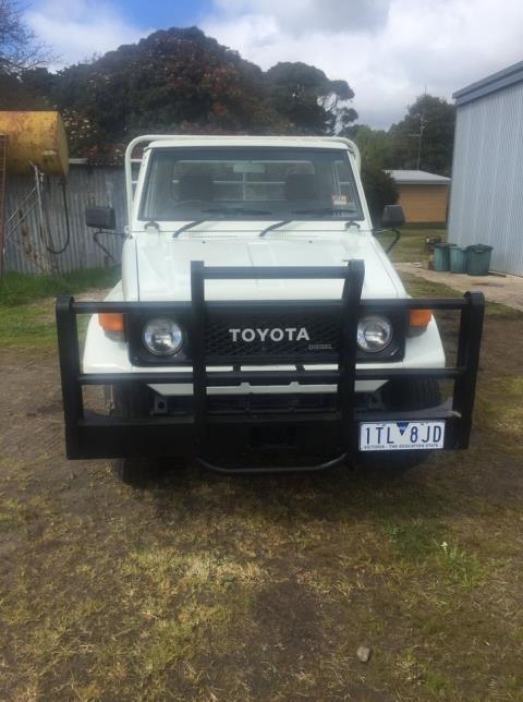 1990 Toyota Landcruiser Ute