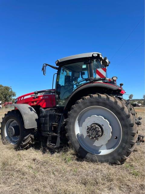2017 Massey Ferguson 8730 Tractor