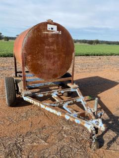 Trailer - fuel tank