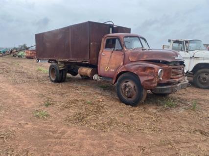 Bedford tipper truck