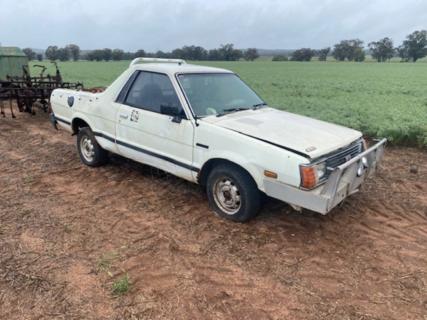 Subaru brumby ute # 1