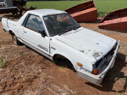 Subaru brumby ute # 2