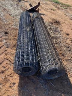 Weld mesh rolls (x 2)