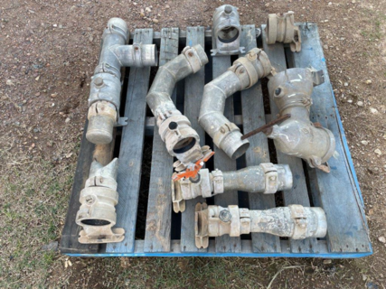 QTY OF IRRIGATION FITTINGS