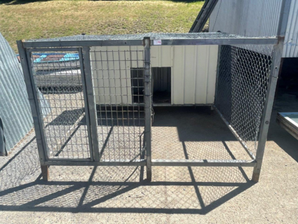 DOUBLE DOG CAGE FRAME